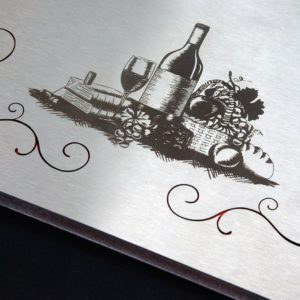 Меню метална корица